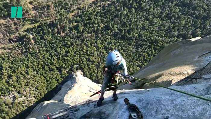 """10-Year-Old Girl Scales """"The Nose"""" of El Capitan"""