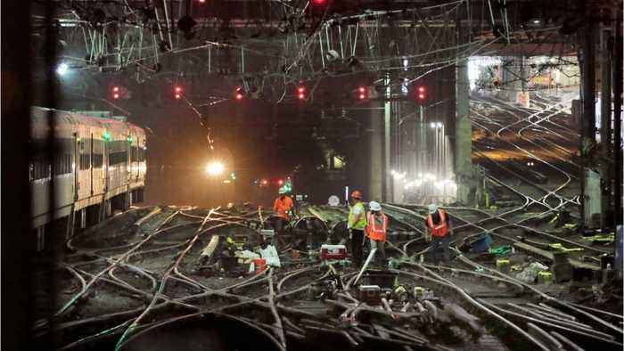 Amtrak Says Power Outages Suspended Some New York-Philadelphia Trains