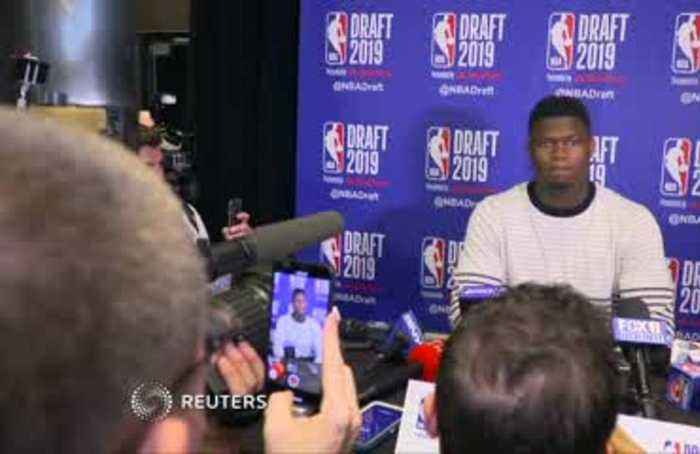 'I'm such a simple dude. I just want to hoop,' says Zion Williamson ahead of the NBA draft