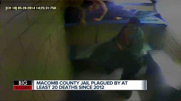 Macomb County Jail plagued by at least 20 deaths since 2012