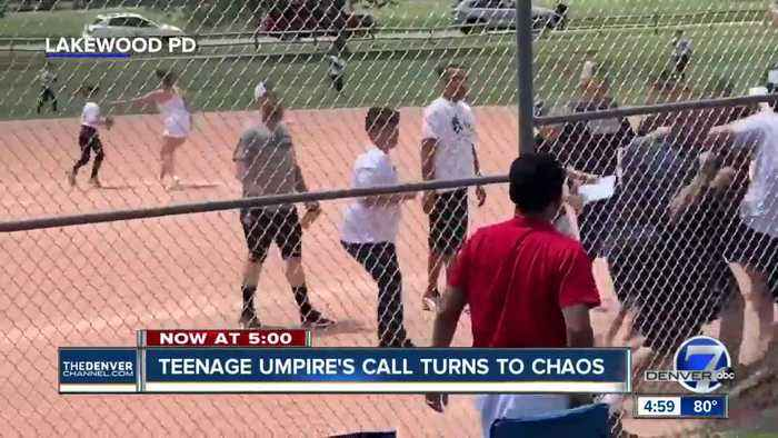 Brawl breaks out at youth baseball game in Lakewood