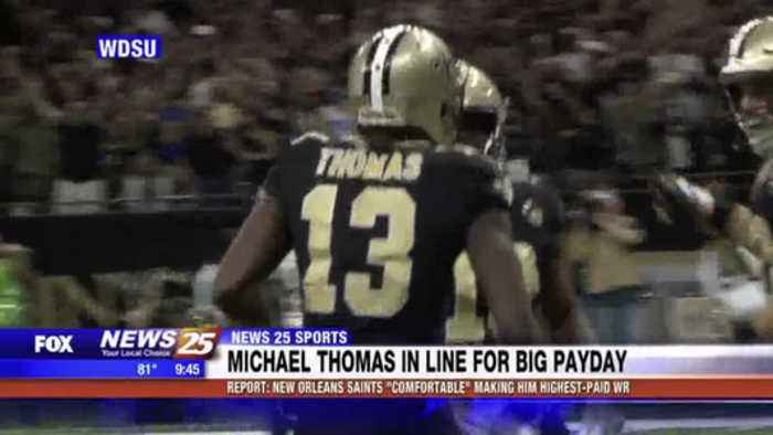 Michael Thomas in line for big payday