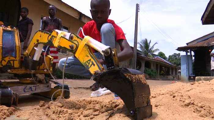 Young Nigerian Boy Is Impressing Neighbors With His Inventions