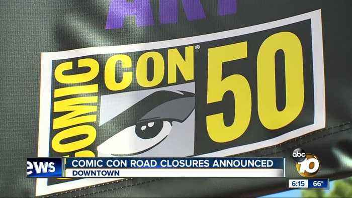 San Diego Comic-Con road closures announced