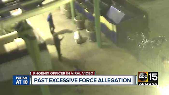 Phoenix officer involved in excessive force investigation from viral video facing past allegation
