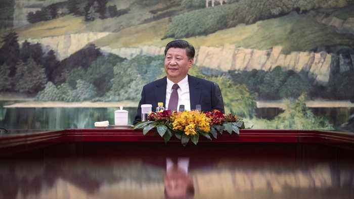 Chinese President Xi Jinping Makes Historic Trip To North Korea