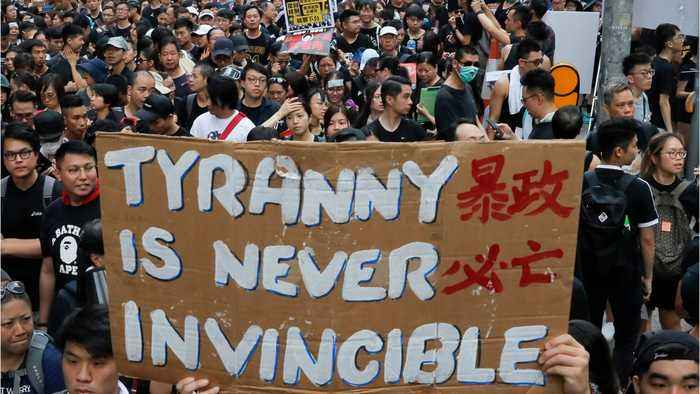 Hong Kong chief scrapping Bill, but won't quit