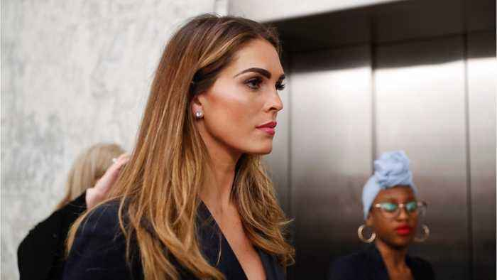 Hope Hicks says Trump is serious about accepting foreign information