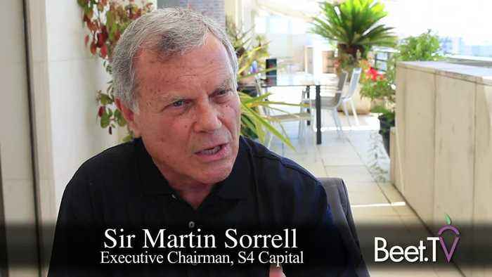 Agencies Need To Change And Experiment Like Marketers: S4's Sorrell