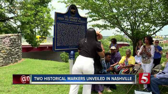 Two historical markers unveiled for Juneteenth