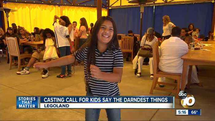 Kids Say the Darndest Things reboot casting call held at Legoland