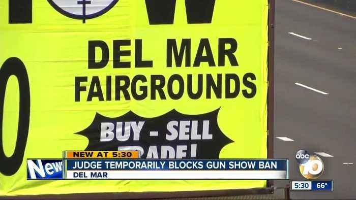 Del Mar gun shows can continue for now, U.S. district court judge rules