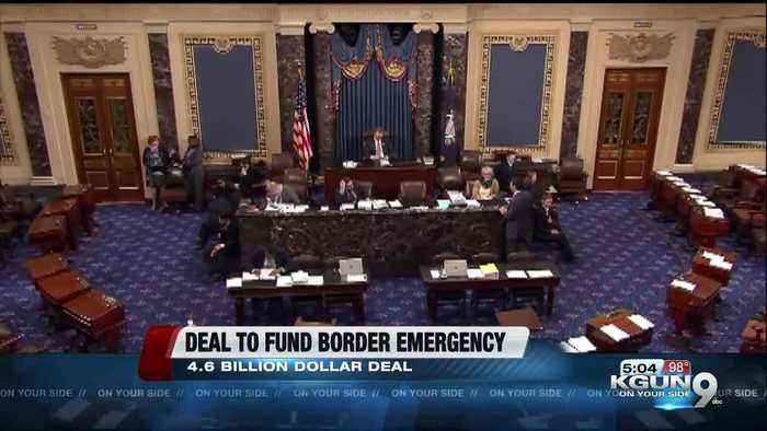 Border funding deal reached