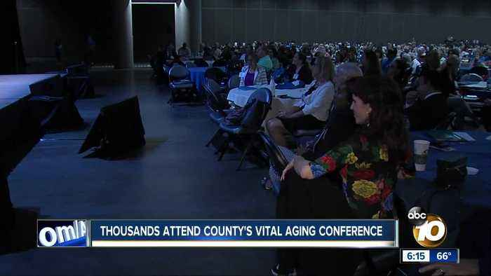 Thousands attend county's Vital Aging conference
