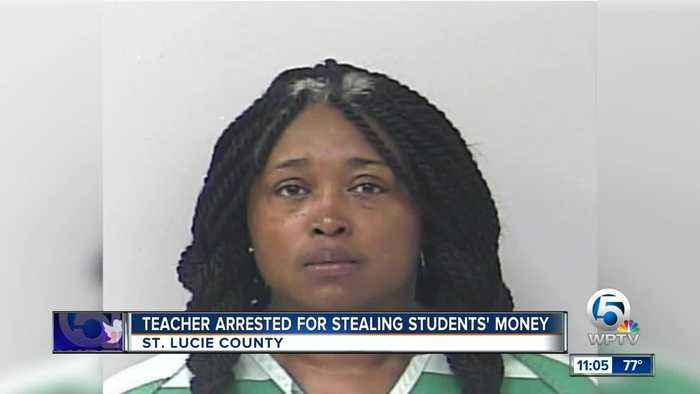 Fort Pierce Central High School teacher accused of stealing money from students, school