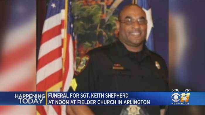 2 Funerals Thursday For 2 North Texas Officers Who Died Last Week