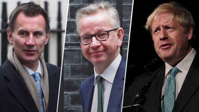 Tory leadership race: Who are the final three?