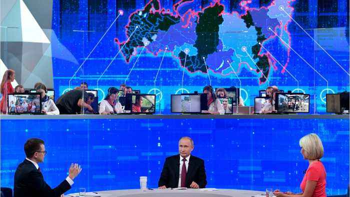 Putin Says U.S. Attack On Iran Would Be A Catastrophe
