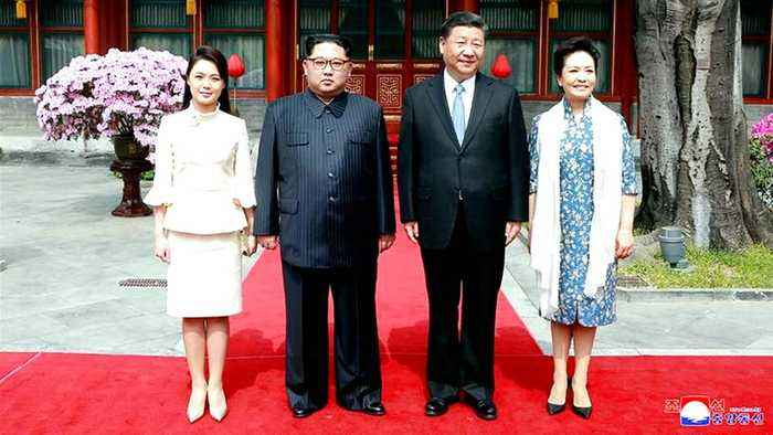China's Xi meets North Korea's King Jung Un
