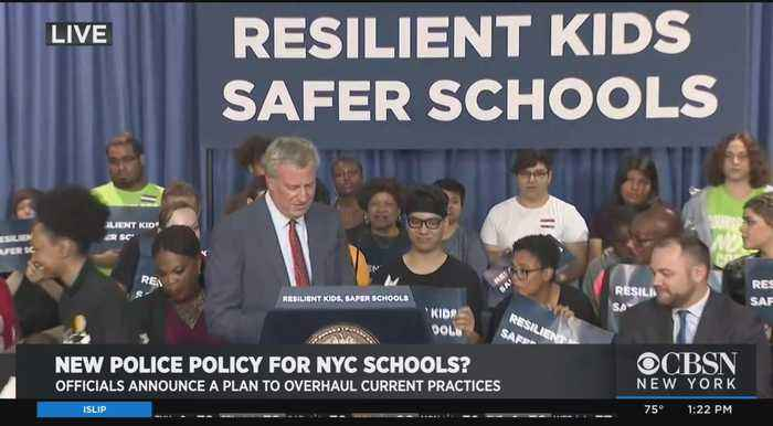 Officials Announce Plan To Overhaul Police Policy In NYC Schools
