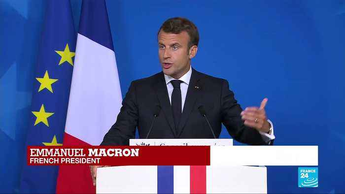 'The main priority of this roadmap should be climate change', says Macron