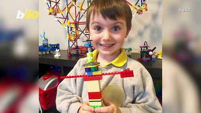 4-Year-Old Inventor Offers Up Plan for Notre Dame Cathedral Rebuild He Devised Using Legos
