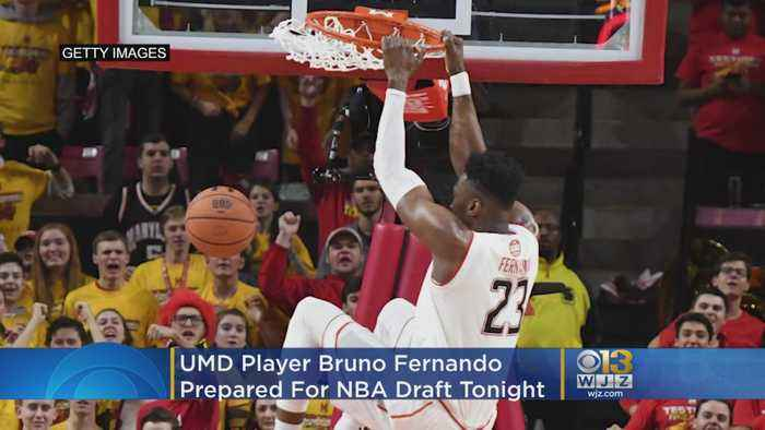 UMD Player Bruno Fernando Hopes To Become First Angolan To Play In NBA