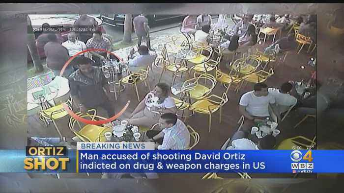 Man Accused Of Shooting David Ortiz Indicted On Drug, Weapon Charges In U.S.