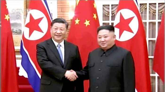 Chinese and North Korean Work On Relationship Between Countries