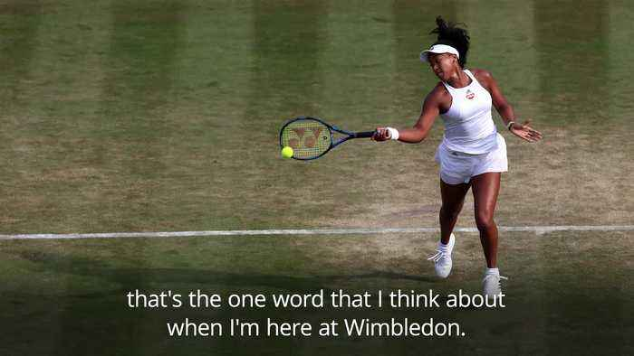 Osaka prepared for Wimbledon following 'learning curve' at French Open