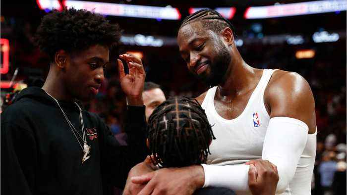 Dwyane Wade Said It's His 'Job As A Father' To Support His Son Marching In  The Miami Beach Pride Parade