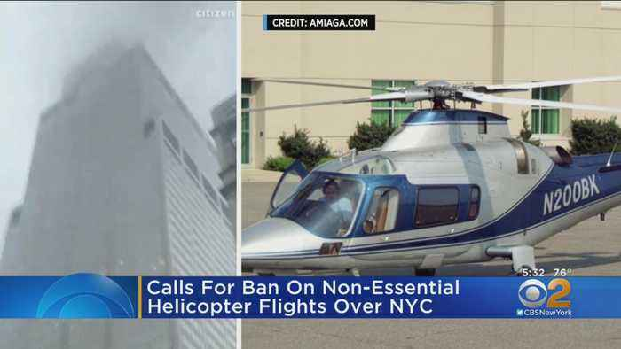 Lawmakers Urge FAA To Issue Temporary Flight Restrictions For Helicopters Over Manhattan