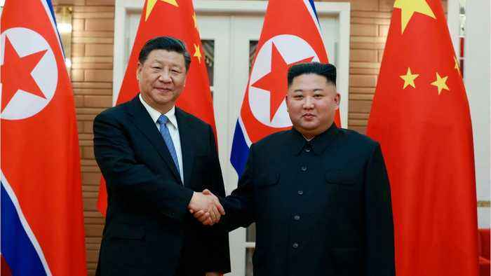 Kim, Xi Agree to Grow Ties Whatever the External Situation