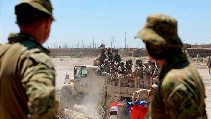 Iraq, U.S. Deny Plan To Evacuate Contractors From Iraq Base