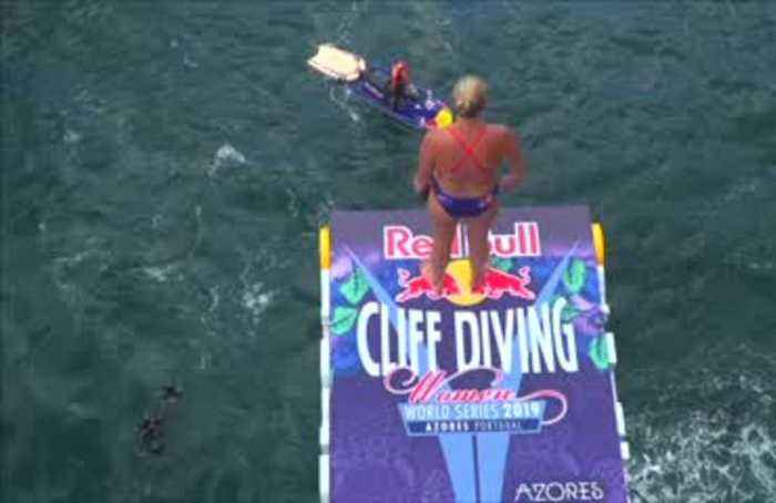 Hunt and Iffland leap to Cliff Diving glory in the Portuguese Azores