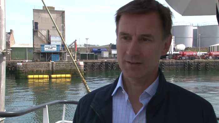 Jeremy Hunt on Boris Johnson's refusal to talk about the row with his partner