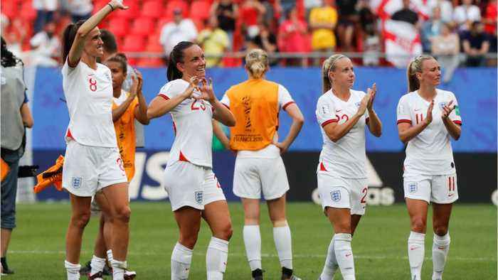 England Wins Controversial Women's World Cup Match