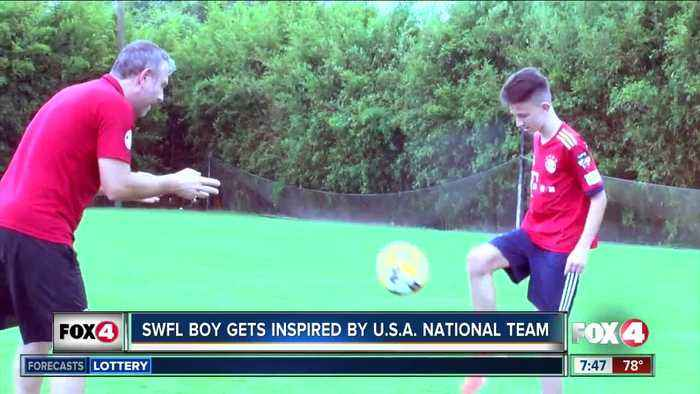 Inspired by US Women's National Team, young player aspires to dominate on world stage