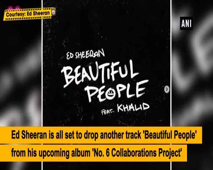 Ed Sheerans Beautiful People will be out soon