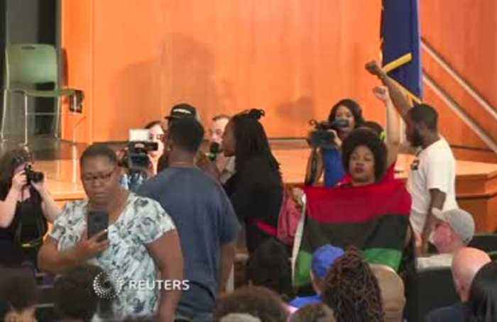 Angry residents confront Buttigieg over police shooting