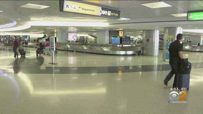 Security Breach Reported At Newark International Airport