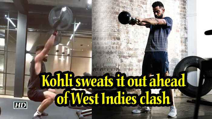World Cup 2019 | Kohli sweats it out ahead of West Indies clash