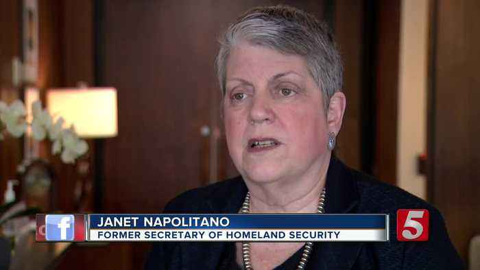Janet Napolitano talks border security