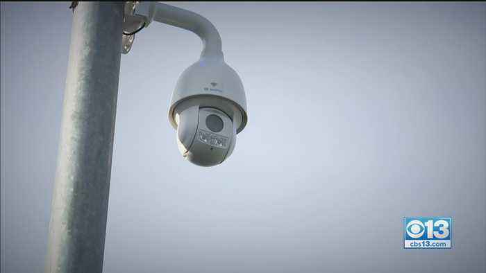 New Surveillance Cameras Installed In Riverbank