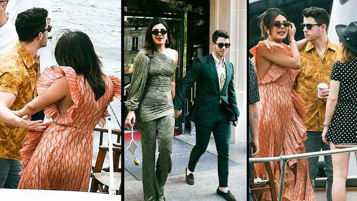 Priyanka Chopra, Nick Jonas party ahead of Joe Jonas, Sophie Turner's wedding
