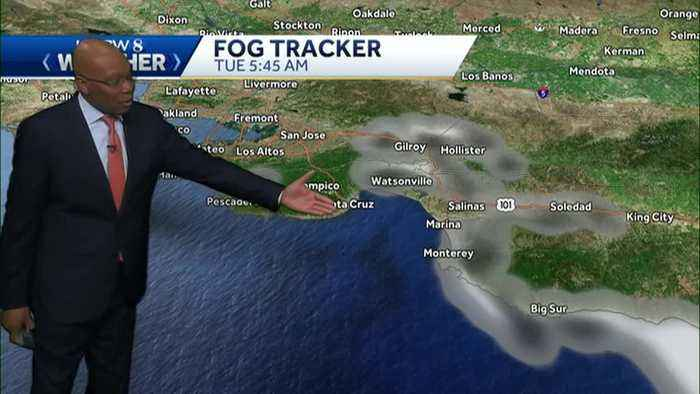 Cooler and Breezy on the Central Coast