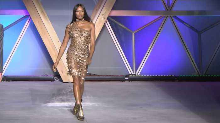 Naomi Campbell Talks Being Named Fashion Icon