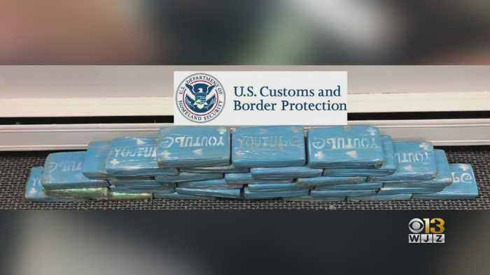 Largest Ever Seizure Of Cocaine Made At Port Of Baltimore