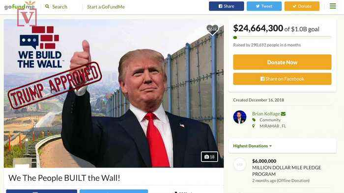 Property Owner Faces Criminal Charges for Not Having Permit for Private Border Wall Construction