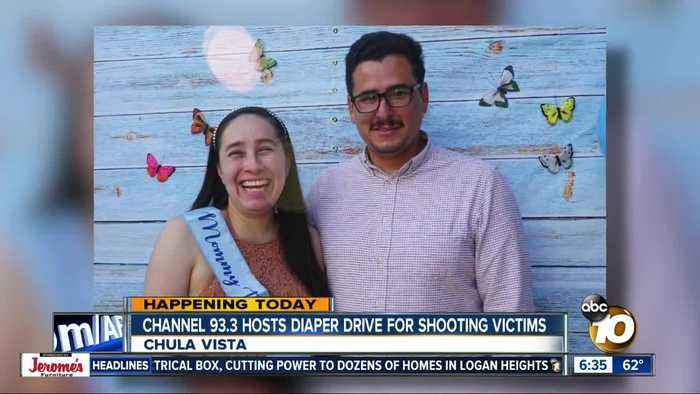 San Diego radio station Channel 933 hosts diaper drive for Chula Vista Costco shooting victims